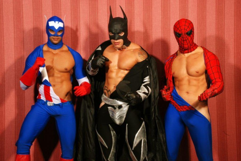 Gay superhero pics